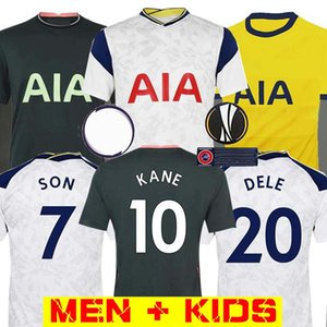 Men + KIDS KIT 20 21 KANE SON Bergwijn Ndombele Fußballjerseys 2020 2021 LUCAS DELE TOTTENHAM Trikot Football Kit Shirt Lloris SPURS HOME