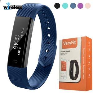 Original ID115 Smart-Armband Fitness Tracker Step Counter Activity Monitor Band Wecker Vibration Armband für Smartphones