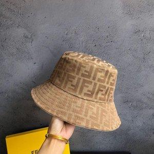 Luxe mode marque seau chapeaux lettre barre couleur double face noire classique chapeau de haute qualité de pêcheur et blanc Hommes Femmes Voyage BB055