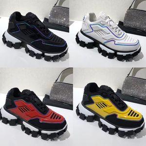 TOP Erkekler Cloudbust Thunder Sneakers örme platformu Sneakers Düşük En Eğitici Işık Kauçuk Sole 3D Sneakers Bayan Büyük Beden 36-46