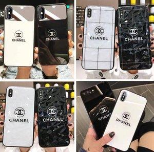 أعلى حالات مصمم الهاتف آيفون 11 11Pro MAX XR XS MAX 7 8 زائد فاخر حالات رسالة غطاء الهاتف