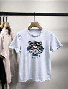겐조 여름 스타일 티셔츠는 반팔 T 셔츠 남성 코튼 특 대형 오프 망 디자이너 t 셔츠를 씻어 묻은