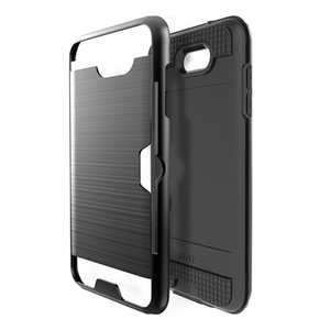 Free shipping new design Soft Shockproof Carbon Fiber Phone Case For samsung galaxy j7 2017 with drop resistant