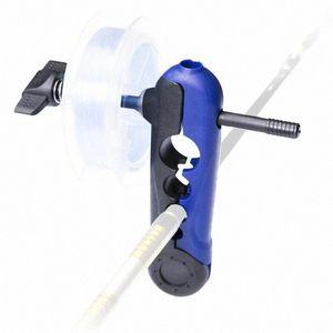Mounchain портативный универсальный мини-рыболовная катушка леска Spooler моталки Регулируемое для различных размеров Rod Бобина Reel Winder 6R8N #