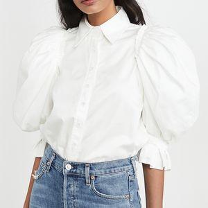 2020 de moda de verano de la solapa de la blusa VONDA atractivo de las mujeres del soplo Camisa sólido ocasional señora de la oficina Tops Femenina Femenina Partido Blusa S-5XL