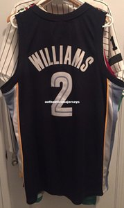 Cheap wholesale Jason Williams #2 Jersey RB Sewn Mens Blue T-shirt vest Stitched Basketball jerseys Ncaa