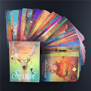 The Spirit Animal Oracle Card Deck and Electronic Guidebook Divination Baron Reid Insects Fish Card Game Board