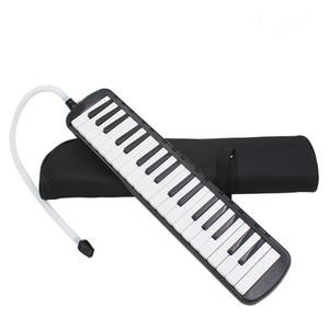37 Piano Keys Melodica pianica nero elettronico w / Carrying strumento musicale Borsa per studenti amanti della musica principianti regalo