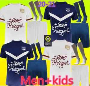 الرجال + الاطفال 20 21 بوردو بالقميص لكرة القدم 2020 2021 مايوه دي القدم BRIAND S.KALU KAMANO BENITO DE أودين BASIC كرة القدم شي