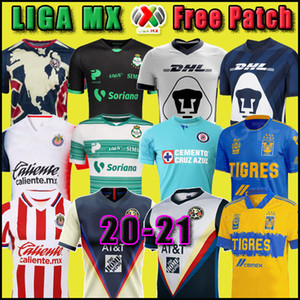 20 21 Club America Cruz Azul Futbol Forma 2020 Guadalajara Chivas Tijuana UNAM Tigres ev uzakta üçüncü Liga MX Futbol Gömlek Santos Laguna