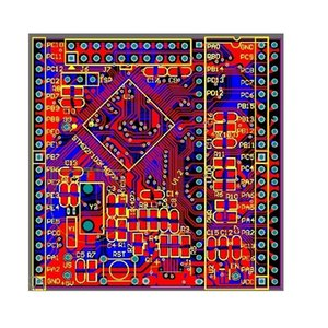Stm32f407 development board Schematic and PCB stm32f4x MicroUSB f407 STM32 designed by Altium Designer Free Shipping