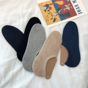 Japanese and simple shallow men's hand-stitched comfortable Japanese and simple shallow men's socks hand-stitched comfortable socks