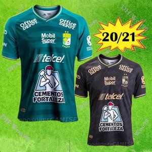 2020 Club León camisas de futebol Início distância 2020 2021 León MACIAS RAMOS W.TESILLO Ángel M. CAMPBELL camisas de futebol homens crianças kit