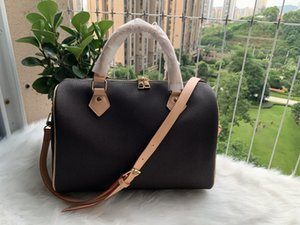 2020 nuovo messaggero delle donne Borsa da viaggio in stile classico Moda Borse sacchetti di spalla della signora Totes borse 30 cm con serratura a chiave yuN87454