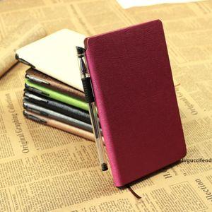 Negócios, Escritório, Notebook PU imitação de couro Notebooks com uma caneta Student Stationery Diário Notepad Multi Color Opcional 5 4cr F RKK