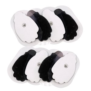 Haufen Entspannung Behandlungen 50Pcs / 100Pcs Self Adhesive Ersatz Tens Elektrodenpads für Tens Akupunktur Elektrotherapie Körpermassager- ...
