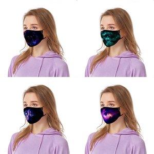 Dener Impreso Fa máscara personalizada algodón Máscara Wit breating Válvula reutilizable Wasable Fa Máscara Wit fltros # 972 # 761
