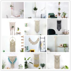 Handmade Гобелен Гобелен Макраме Венчание Backdrop Wall Art Wedding Home Living Room Home Decor