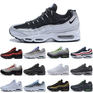 Mens Running Shoes air Gold Bred Gym Red Laser Fuchsia Gradient maxes White Blue Classic Black Men 36-45