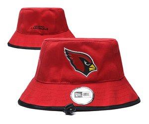 Toute l'équipe de baseball Sport Chapeau Camping Chasse Chapeau Chapeau d'été Sun Beach Casquettes de pêche Cardinal rouge couleur grand Brim chapeaux pour hommes femmes