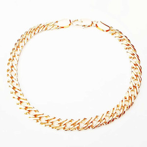 Necklace Set Men's Fashion Necklace Bracelet Jewelry Set 585 Rose Gold Color Party Mutual Gift Gift Giveaway