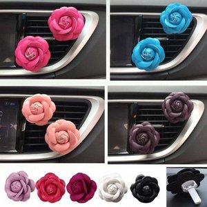 automobile voiture Air Cleaner Fresher Flower clip Air Purifier Car Outlet Parfum Diffuseur Huile Essentielle assainisseur UJK9 #
