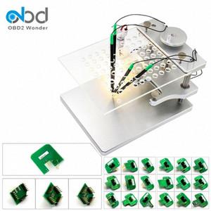 Dell'acciaio inossidabile LED BDM con 4 Sonda Penne BDM adattatori per KESS V2 KTAG / 100 / CDM100 FGTech Galletto V54 YXfs #