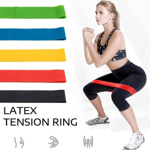 5 Colors Yoga Band Pull Rope Resistance Bands Set Exercises Resistance Bands Latex Pedal Excerciser Body Fitness Training