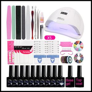 EPACK 36W Nail Set UV LED Lamp Dryer Nails Gel Polish Kit Soak Off Manicure Tools Set electric Nail drill For Nail Tools