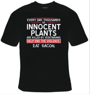 새로운 EVERY DAY 식물은 캐주얼 자랑 t 셔츠 남성 남여 쿨 5XL에 채식주의 검은 색 T 셔츠 작은 의해 사망