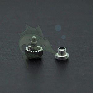 5.3mm / 6.0mm Taille Assort montre Couronne Partie, ETA 8200 Mouvement Montre Couronne Repalcement Pièces wicth Vis Tube pour Horlogers