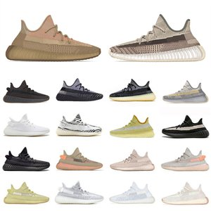 Black Antlia 3M Reflective V2 Eliada Zyon Kanye West Mens Sports Designer Sneakers Cream Marsh Tail Light Desert Sage Abez Oreo Asriel Israfil Sulfur Men Women Running Shoes 36-46