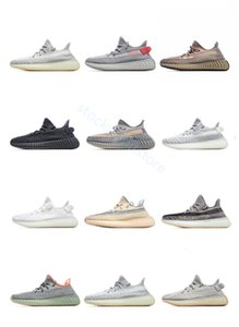 Kanye West 3M Static Running Shoes New Colors Clay Cloud White Cream GID Oreo Hyperspace Lundmark Sesame Synth True Yecheil Zebra US5-13