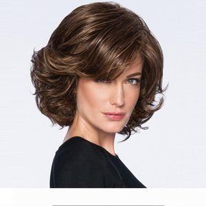 Yaopoly High Temperature Fiber None Synthetic Wigs Short Wigs For Europe Women Heat Resistant Synthetic Wigs