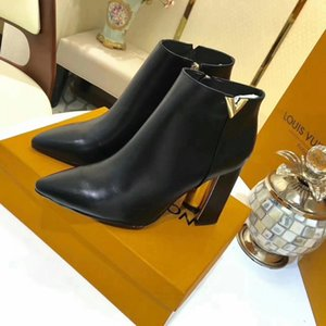 Ting2594 9819 Latest Pointed Booties Riding Rain Boot Boots Booties Sneakers Dress Shoes