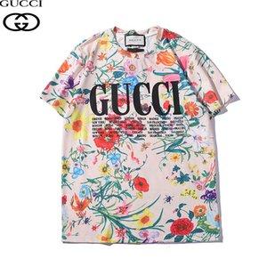 Lusso Europa Francia di alta qualità Vetements fumetto maglietta del Mens di modo del progettista delle magliette delle donne abbigliamento casual in cotone Tee Top Gucci
