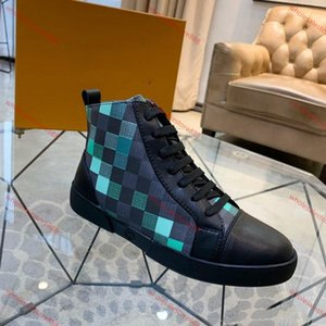 xshfbcl 2020 new Mens high top Leather Ankle Sneaker Boots,Mens Ace High Top Sneakers Speed Trainers Light rubber sole casual shoes