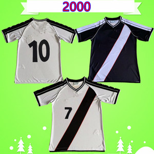 DONIZETE VASCO DA MATCH GAMA WORN retro soccer jersey 2000 2001 classic football shirt vintage Camisa de futebol ROMÁRIO home away