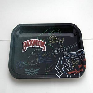 Metal Prep Tray Stash Papers Smokers Gift Rolling Aid Smoke Metal Prep Buy Ships In 1 Day Festival Fashion ce2007 GxWsk