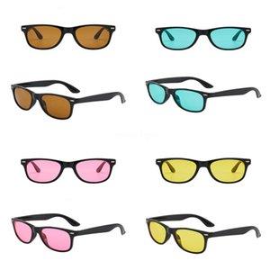 ALOZ MICC Nuova Fasion donne dell'annata rivetta gli occhiali da sole 2020 nuovo Rand Dener SQRE specchio di vetro di Sun Sades UV400 A151 # 640