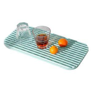 Bandeja de Drenaje plástico placa hueco P7Ding Frutas multifuncional Inicio de cocina del sostenedor de taza