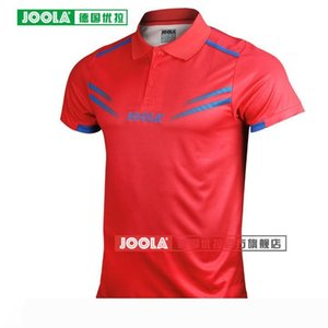 JOOLA Cologne (Star modèle Aruna Quadri Chen Weixing) tennis de table Maillots T-shirts pour hommes, femmes Ping-pong Tissu formation