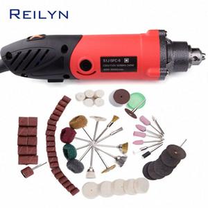 Reilyn Hand-Held Grinding Machine Mini Grinder Small Convenient Drill Mini Rotary Machine Clamping Chuck High Quality Durable fAhN#