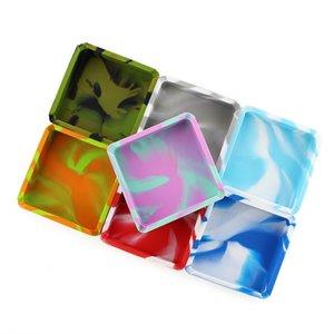 Silicone Smoking Ashtray High Temperature Resistance Ash Tray Muti Color Elastic Fall Prevention Cigarette Case Gift Tea Table 5 8dsa C2