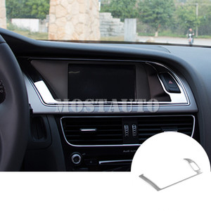 For Audi A4 S4 Interior Centre Console GPS Navigation Frame Cover Trim 2008-2015 1pcs