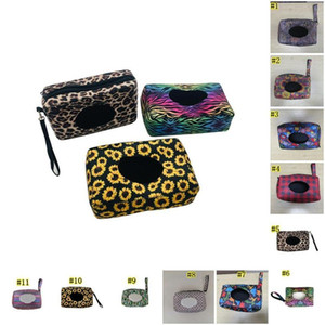 Neopren-Feuchttücher Spenderbox im Freien Spielraum-Baby-Newborn Kinder Wipe-Kasten-Kasten-Tasche nassen Papiertuch Tasche DHB670
