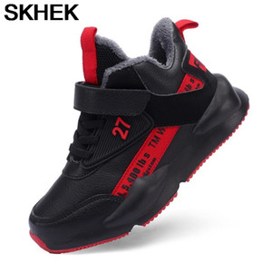SKHEK Children's Sports Shoes 12 Years Old Plush Sneakers For Boys Shoe 6 Big Kids 7 Spring 8 New 9 Boys Breathable 10 Mesh
