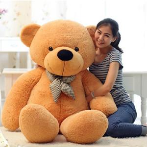 Big Bear الكلاسيكية اضافية كبيرة تيدي بير أفخم لعبة دمية تاناباتا هدية عيد هدية عيد دمية دمية
