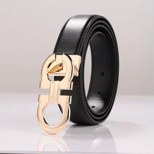 Designer Men's Genuine Leather Dress Belt Alloy Pin Buckle Belt For Men Business Men Belt Fancy Fashion Jeans 2020