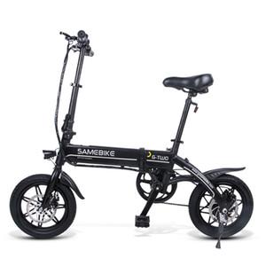 2020 montagne pliage samebike vélo de route de montagne pliage électrique bicyclette en gros scooter électrique de la batterie portable de lithium